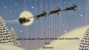 TJ's Gift Certificate